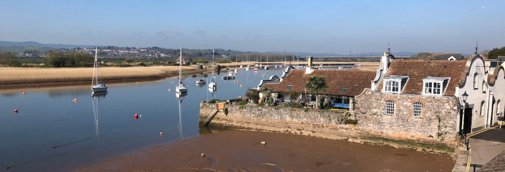 Low Tide at Topsham, Devon